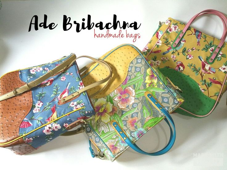 my handmade batik bags #batikbags #handmade #fashion #handbags #slingbags #linenbags