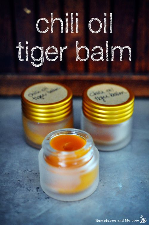 Chili Oil Tiger Balm