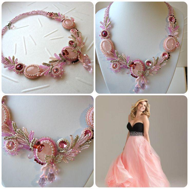 Розовые сны | biser.info - всё о бисере и бисерном творчестве