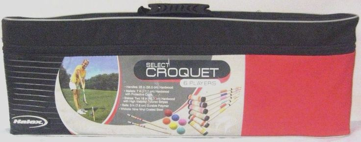 New Halex Select Croquet Game #Halex