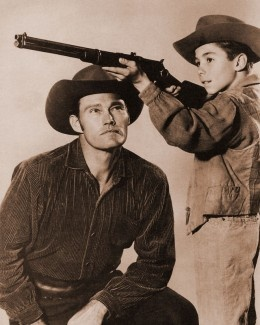 The Rifleman~~I was sooo in love <3 <3 <3 with the boy on this show, who played Luke, (I think tha'ts what his name was...??)