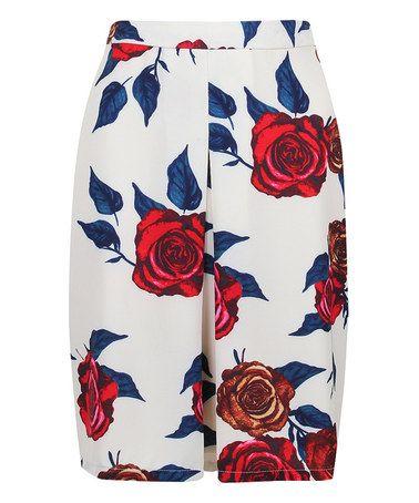Loving this Cream Talia Skirt on #zulily! #zulilyfinds