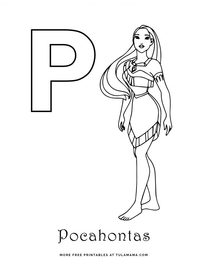 Free Printable Disney Alphabet Coloring Pages Disney Alphabet Abc Coloring Pages Coloring Pages