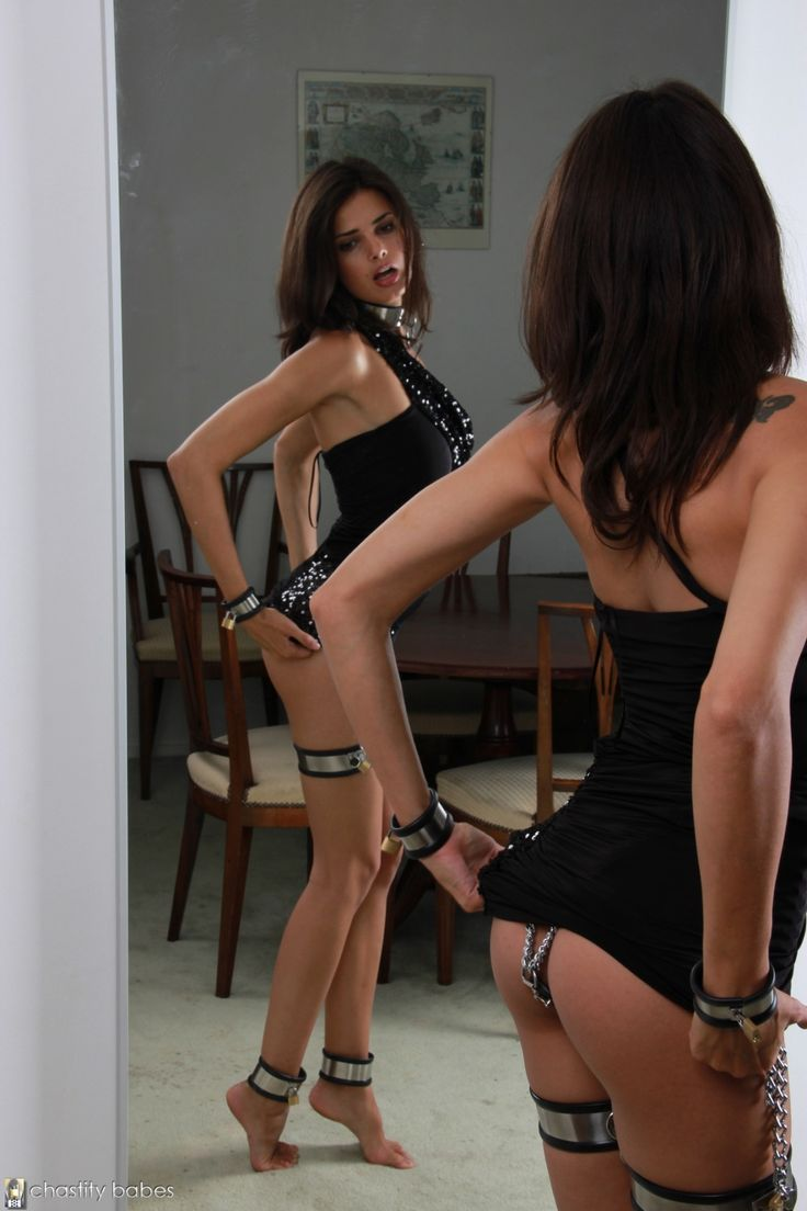 Bondage belt girls nude chastity