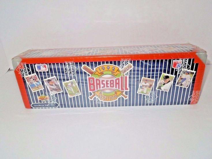 1992 Series 1 Upper Deck Baseball Cards Complete Set #UpperDeck