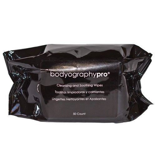 HAIR 2 GO - Bodyography - Cleansing and Soothing Wipes 50 pack, $9.95 (http://www.hair2go.com.au/bodyography-cleansing-and-soothing-wipes-50-pack/)