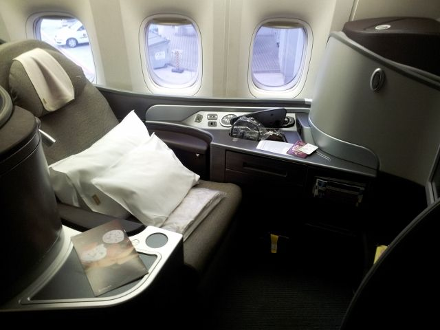 Comparing First Class with Economy flights