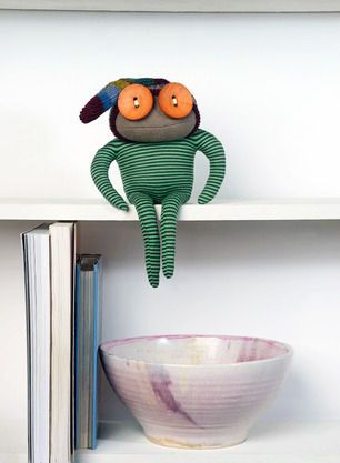 'Eerily Charming Recycled Dolls' Trend Hunter Eco
