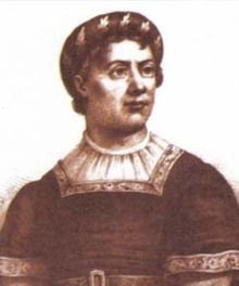 Pedro, Duke of Coimbra (1392 - 1449). Son of Joao I and Philippa of Lancaster. He married Isabella of Urgell and had children.