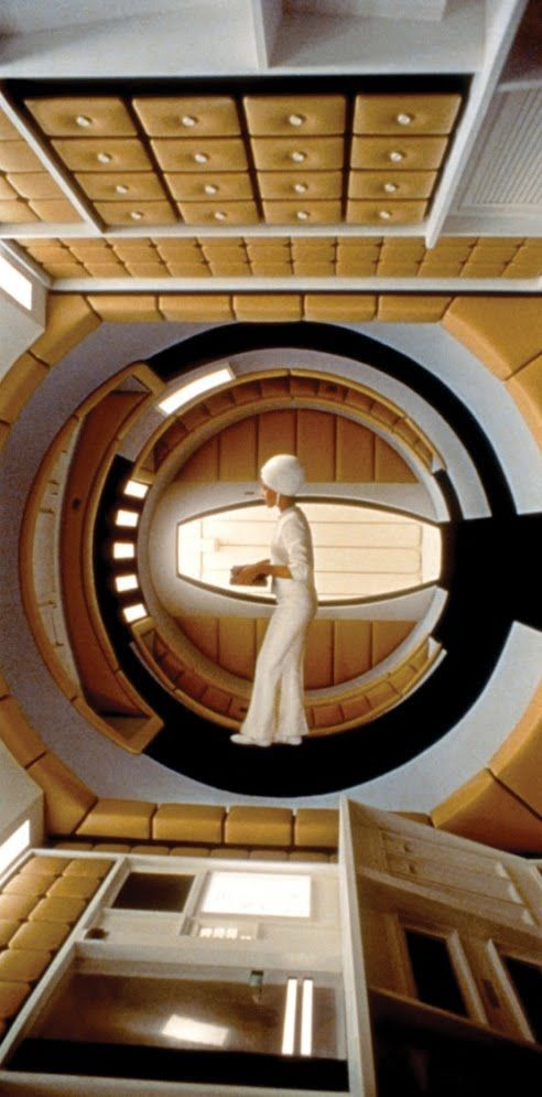 Space Odyssey 2001. It's weird how this can look futuristic and 1970's retro, all at the same time. LOL