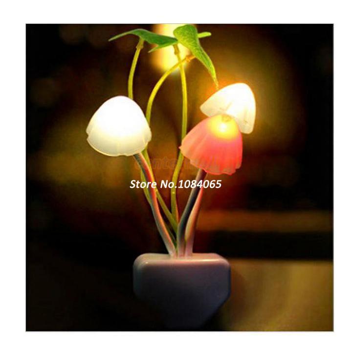 Подарок Валентина Гриб лампы, светодиодные настольные лампы, свет ночи, гриб лампы, энергосберегающие света Dropshipping № 2 19265-в ночные огни от Света ...