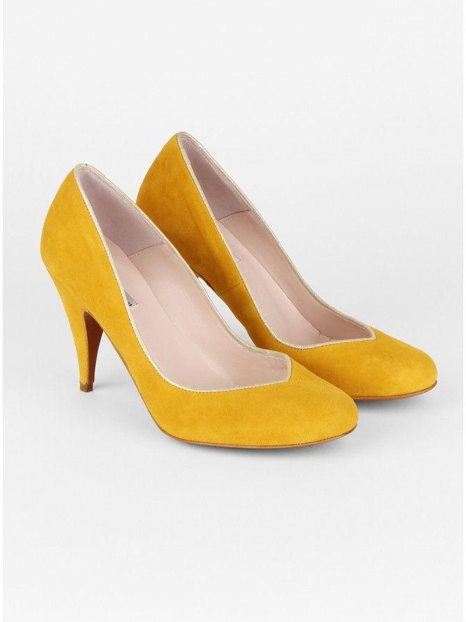 escarpins micheline patricia blanchet les grandes d gaines pinterest chaussure belle. Black Bedroom Furniture Sets. Home Design Ideas