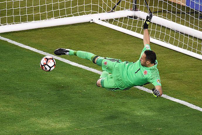 David Ospina fue 'Goliat' en la clasificación de Colombia a semifinales de Copa América