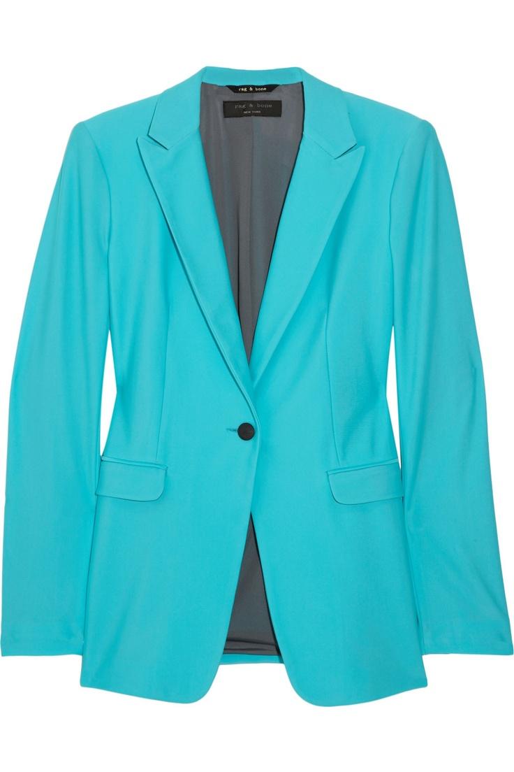 RAG & BONE  42nd Street stretch-jersey blazer