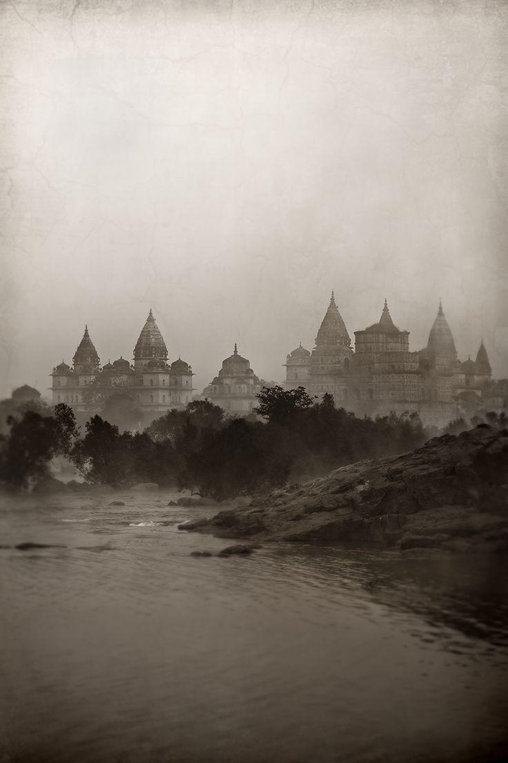 The Chhatris, Orchha, Madhya Pradesh, India