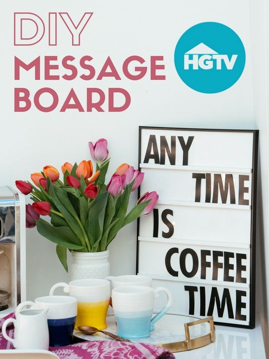 pleasing home and garden tv shows. DIY Sliding Message Board  http www hgtv com 180 best HGTV Happy images on Pinterest
