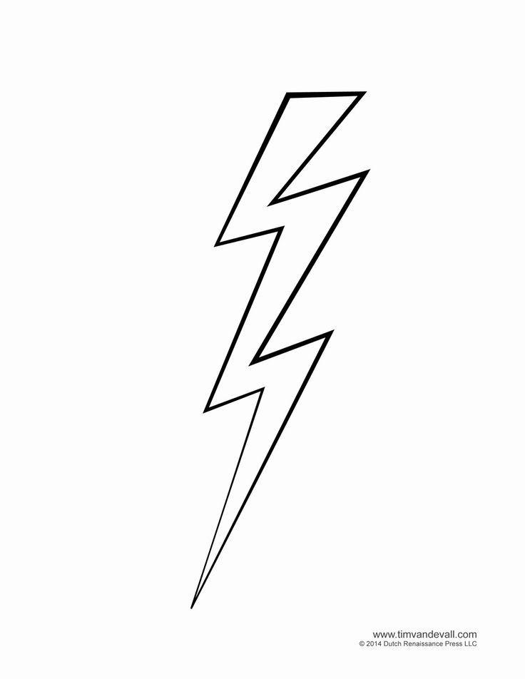 Cool Lightning Strikes Clip Art