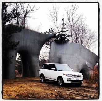 2014 Range Rover HSE & Supercharged Test Drives #LandRover #RangeRover #HSE #Supercharged #Review #Automotive #Cars #Motorsports #Luxury #Style #Class #Driving #AllWheelDrive #ElevatedWetlands #Statues
