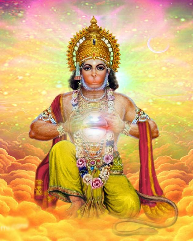 Om Sri Hanuman!  Om Namah Shivay!