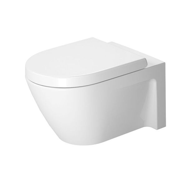 Duravit Starck 2 Wall-Mounted Pan 540mm | Wall-Mounted Toilets | CP Hart