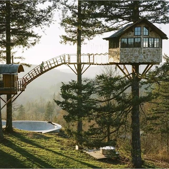 5345 Best Tree Houses Images On Pinterest