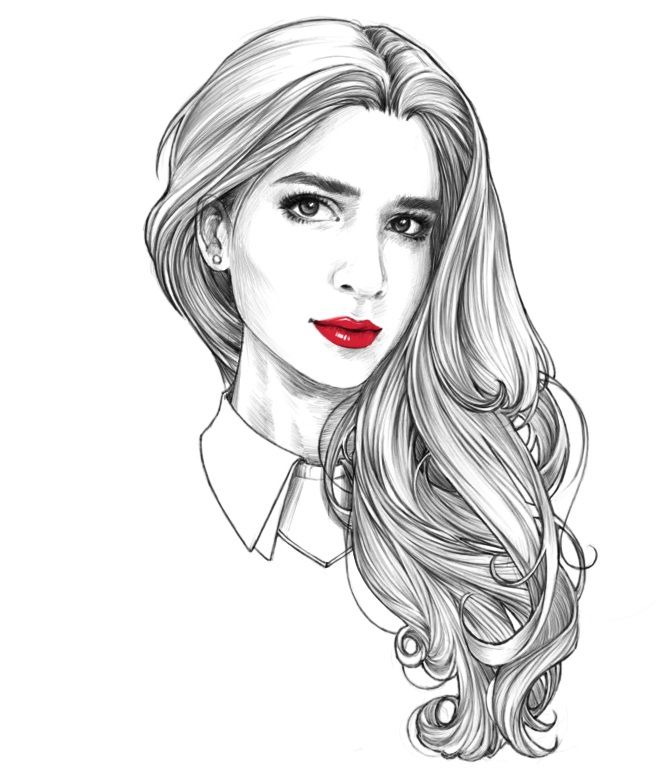 154 Best Images About How To Draw Hair On Pinterest Woman Hair Hairstyles And Male Hairstyles