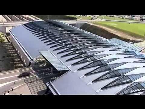 Etűdök építészetre - Satolas - TGV állomá