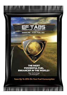EF-TABS el potenciador de combustible más poderoso del mundo.  http://hasrendirtugasolina.com