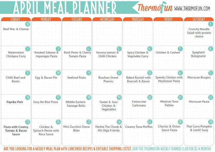 Not sure what to cook with your thermomix this week? Then download ThermoFun's FREE Thermomix Meal Plans guide with a whole month of dinner meals + some des