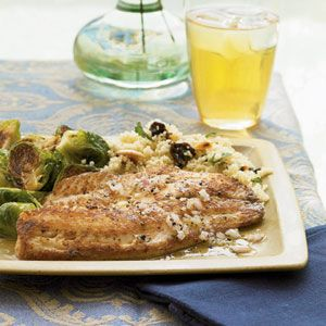 Pan-Seared Tilapia with Citrus Vinaigrette from Cooking Light: Citrus Vinaigrette, Vinaigrette Recipe, Pansear Tilapia, Pan Seared Tilapia, Cooking Lights, White Wine, Fish Dishes, Fish Recipe, Tilapia Recipes