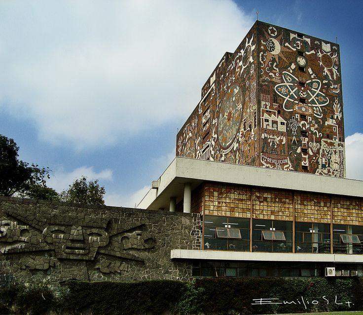 Biblioteca UNAM mexico df 0659 ch by Gaspar Emilio Segura Lop... | Flickr - Photo Sharing!