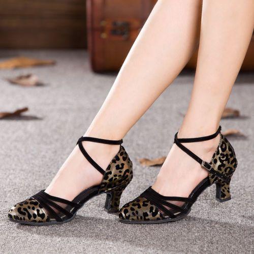 Women-Leopard-Latin-Dance-Salsa-Shoes-Indoor-Tango-Ballroom-Heeled-Dancing-Shoes