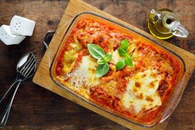 Lasagnes aux légumes d'été et à la mozzarella