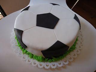 Soccer cake.                                                       …