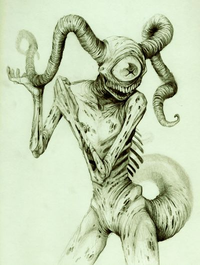 Trade with Musa by ~dendril Traditional Art / Drawings / Macabre & Horror©2012-2013 ~dendril