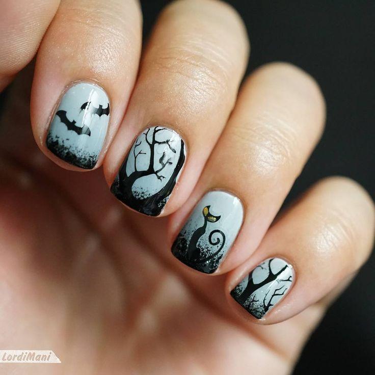 "FIL Twinnails Novembre : ""Halloween + Stamping"""