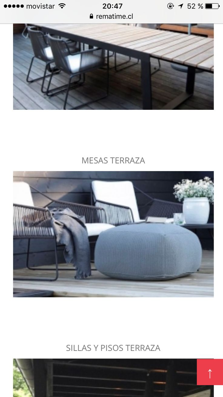 14 Best Deco Images On Pinterest Outdoor Furniture Outdoor  # Muebles Rusticos Buin