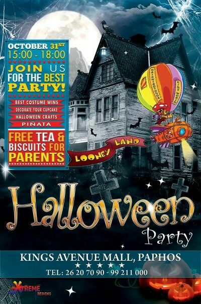 Graphic Design for Halloween Party