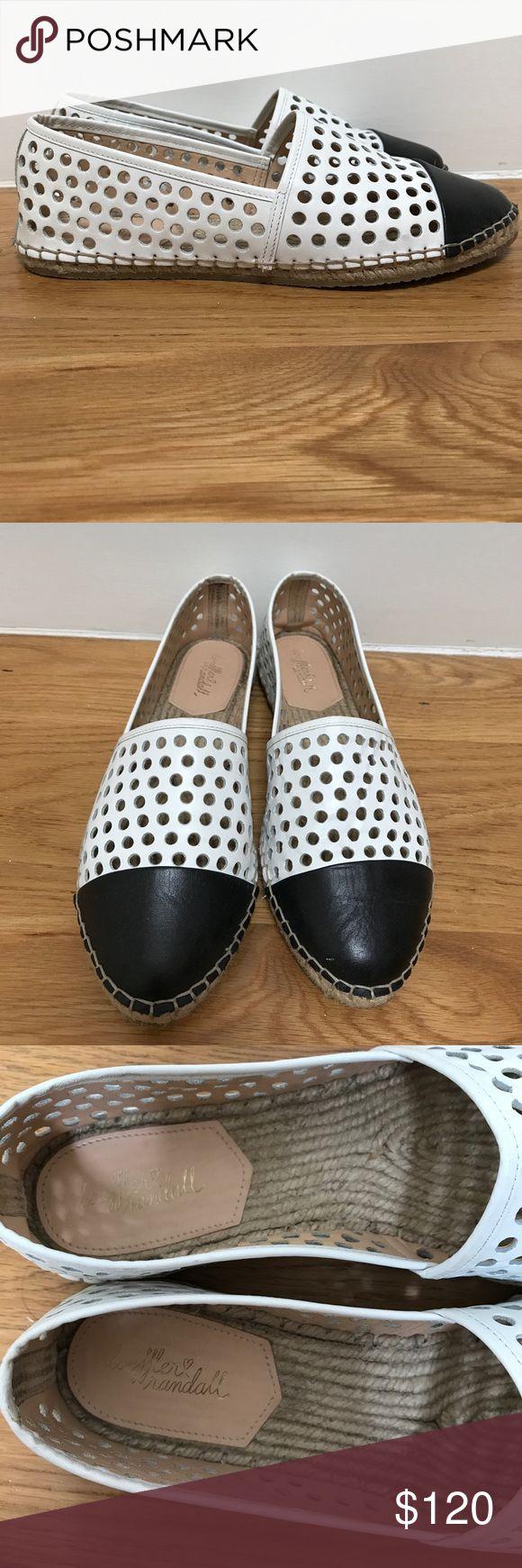 Loeffler Randall espadrilles Brand new worn once black and white espadrilles Loeffler Randall Shoes Espadrilles