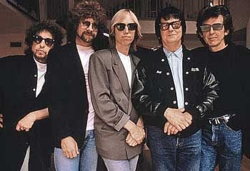 The Traveling Wilburys, featuring Bob Dylan, Jeff Lynne (ELO) Tom Petty, Roy Orbison, George Harrison