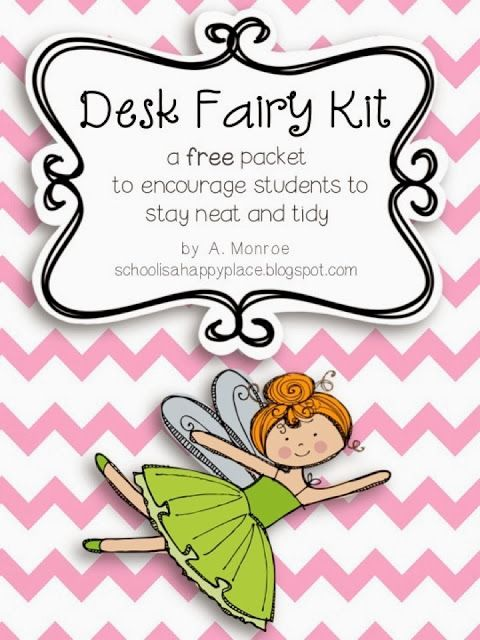 The Desk Fairy Kit {A Freebie for You}