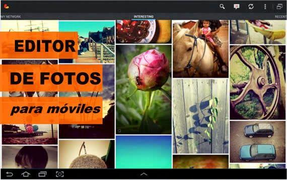 Completo editor fotográfico para móviles : Recursos Gratis En Internet