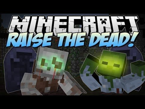 ▶ Minecraft | RAISE THE DEAD! (Unearth the Dead and make them FIGHT!) | Mod Showcase - YouTube