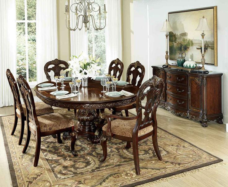 29 Best Homelegance  Formaldiningset Images On Pinterest Classy Traditional Dining Room Sets Cherry Design Ideas