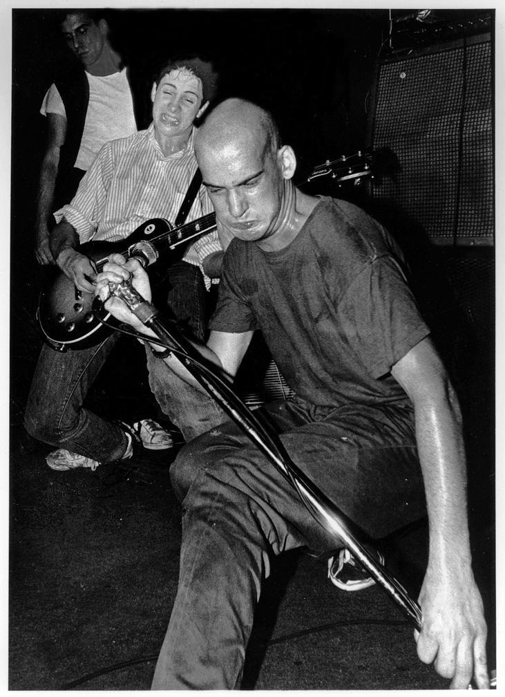 Minor Threat ... Photo by Glen E. Friedman