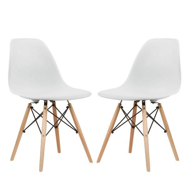 Side Chairs Dining Rooms Peony Retro Walnut Finish