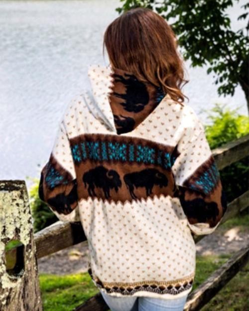Earth Ragz, Alpaca Sweater, Buffalo