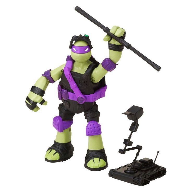 Teenage Mutant Ninja Turtles Action Figure - Stealth Tech Donatello