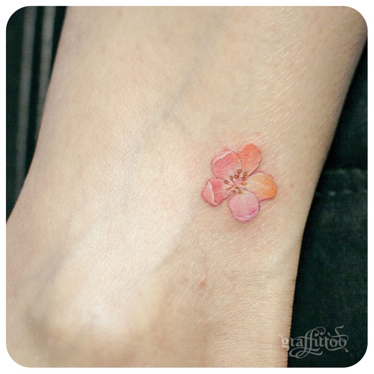 By small flower tattoo for tattoo for Small flower designs