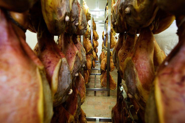#Prosciutto #crudo San Patrignano. Il prosciutto si presenta compatto, dal sapore delicato, non molto pronunciato e dall'aroma fragrante.